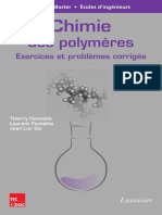 9782743015572 Chimie Des Polymeres Exercices Et Problemes Corriges 2 Ed Sommaire