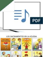 CATEQUESIS 6 LOS SACRAMENTOS DE LA IGLESIA