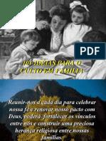 101 ideias para o culto familiar---EBD