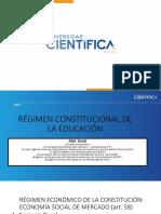 Régimen Constitucional -  SESION 1 Y 2