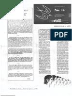 La Golondrina 10 Página literaria. Desmitificar el arte