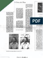 La Golondrina 13 Página literaria. Toño Hernández