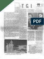 La Golondrina n20. Página literaria. Teatro Grupo Independientye El Salvador