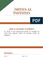 LIMITES AL INFINITO