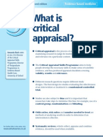What_is_critical_appraisal