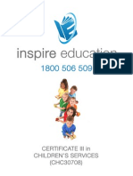 Certificate III in Childrens Services v1