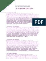 EXERCÍCIOS DE PSICOMOTRICIDADE
