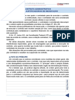 Resumo 652545 Gustavo Scatolino 80994375 Direito Administrativo 2019 Aula 78 Contrato Administrativo Causas Justificadoras de Inexecucao