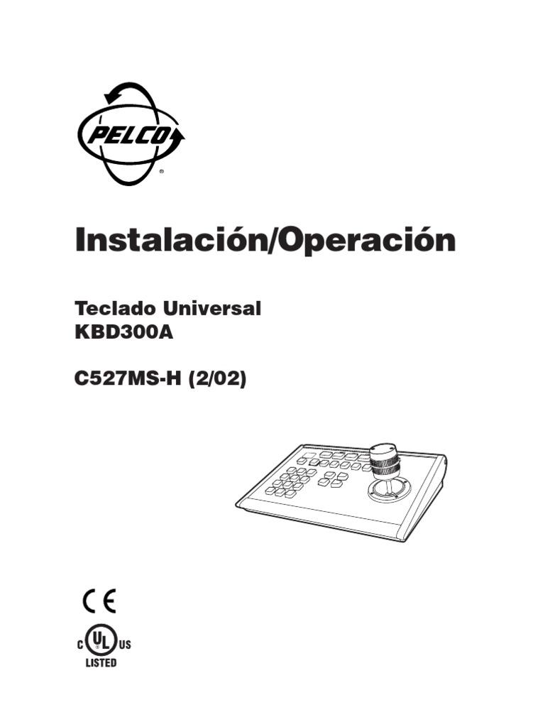 Pelco_KBD300A_manual_bfioptilas