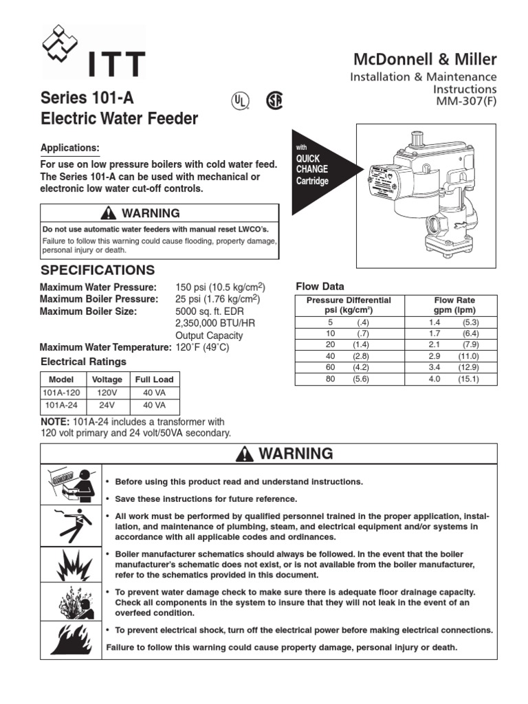 Mcdonnell Miller Low Water Cutoff Wiring Diagram Cut Off