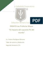 ENSAYO-Las profecias mayas