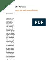 António Lobo Antunes - Todos os homens são maricas