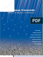 Pervious Concrete - When it rains, it drains