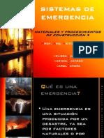 Sistemas de emergencia