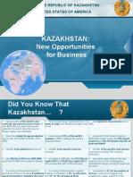 KazakhstanBusiness opportunities