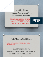 Achilli. Investig. y Fd. Unid.3
