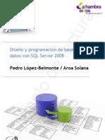 Diseño y programación de bases de datos con SQL Server 2008 (ejemplo)