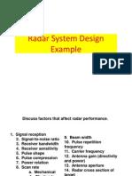 03-2Radar System Design Example