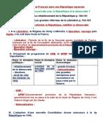 Thème III Françaises Et Français Dans Une République Repensée