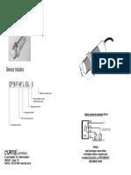 Sensor Indutivo CP18PAFL GL-5 - CURTIS - PAFLGL-5 P37