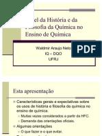 Papel da História e da Filosofia da Química