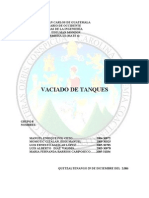 VACIADO DE TANQUES