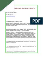 5 PRINCIOS BASICOS DEL REINO DE DIOS - Julio César Pérez A.