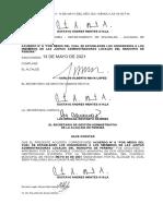 Acuerdo N°8-2021