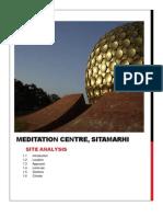 meditation centre, sitamarhi