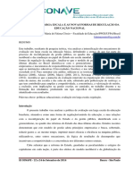 Avaliação em larga escala e as novas formas de regulação da educação nacional Maria de Fatima Cossio