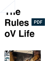 The Rules oV Life