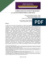 EDUCAÇÃO E NEOLIBERALISMO EM CONTEXTO BRASILERIO - ELEMENTOS INTRODUTÓRIOS A DISCUSSÃO