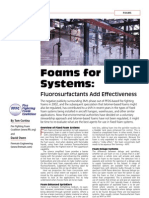 foam for fixed system