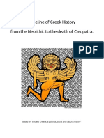 Timeline - Greek History With Images