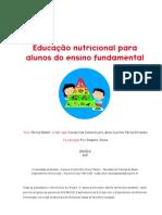 edução nutricional para crianças
