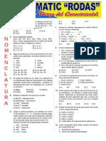Funcion Hidruros y Sales - Nomenclatura
