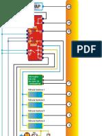 Berlingo 1.8 testes elétricos com multimetro