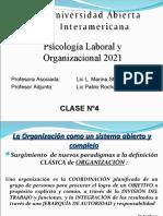 Psi Laboral y Organizacional - Clase 4 - Vers 01