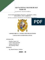 Informe 4 - Extraccion Por Solventes