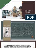 Aula de Sociologia - Processos Sociais