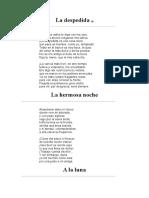 Goethe - Poesía