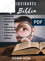 Curiosidades Sobre a Biblia