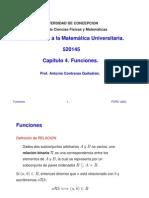 MATEMATICAS - CAPITULO 04 - FUNCIONES