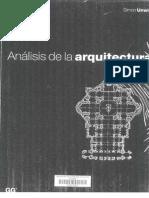 Analisis de La Arquitectura