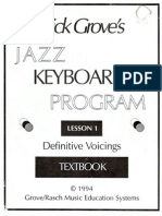 Jazz Keyboard 1 Lesson 1-Dick Grove
