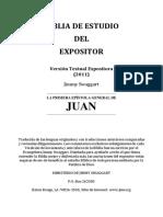 Biblia de Estudio del Expositor 1 Juan - Jimmy Swaggart Ministries
