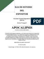 Biblia de Estudio del Expositor Apocalipsis - Jimmy Swaggart Ministries