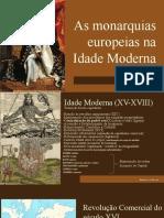 04. Monarquias Modernas