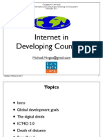 Internet in Developing Countries