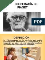 Psicopedagogia Según Piaget
